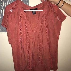 super cute rusty blouse